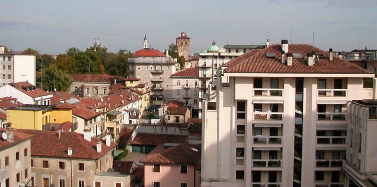 Panorama del Centro di Vicenza
